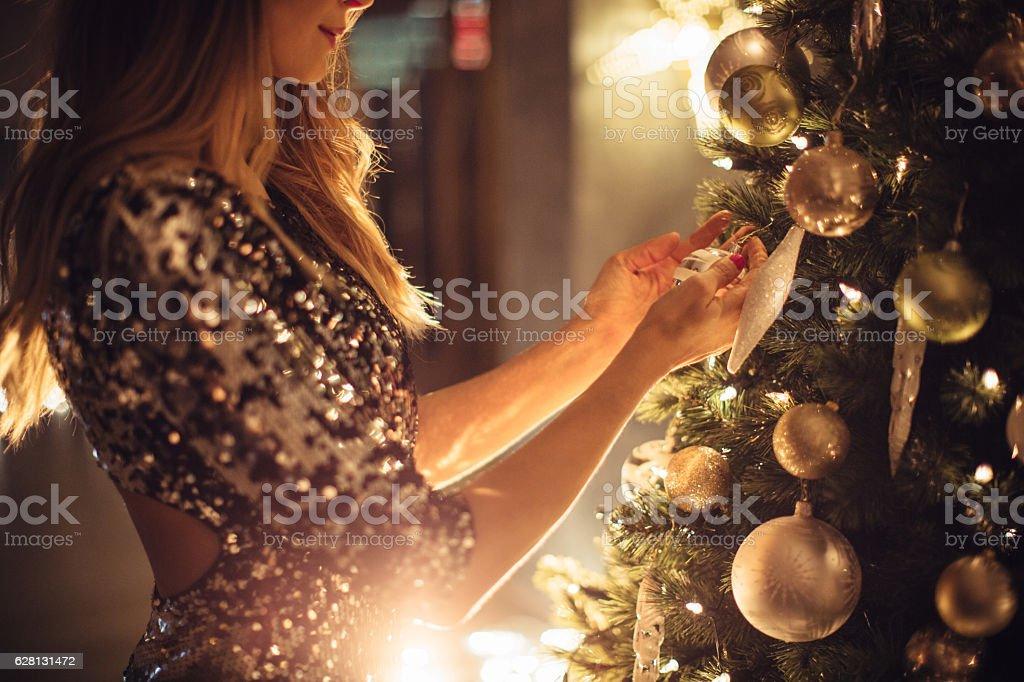Wishing  love for Christmas stock photo