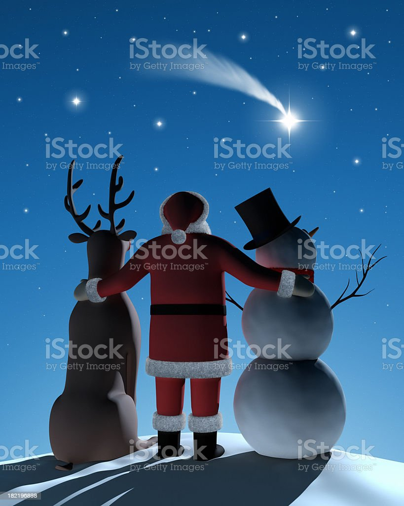 Wishing upon a Star XL+ royalty-free stock photo