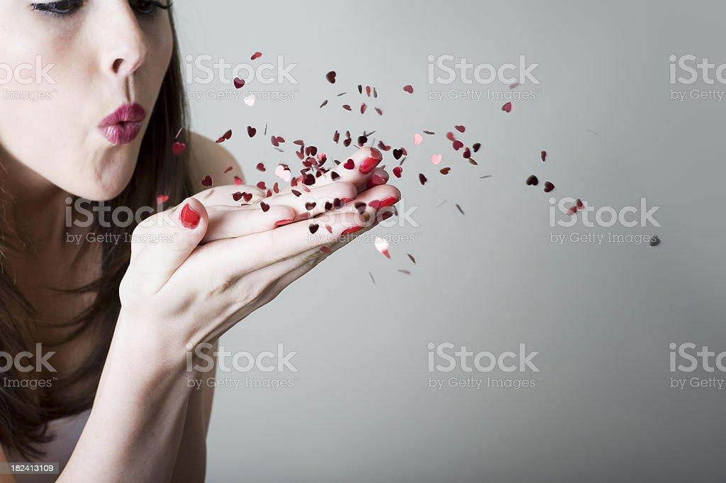 Wishing Upon Love stock photo