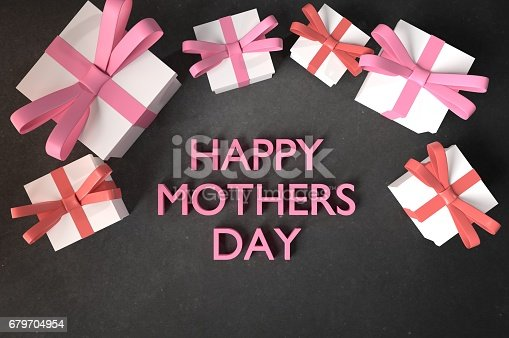 istock Wishing you a Happy mothers day mom! 679704954