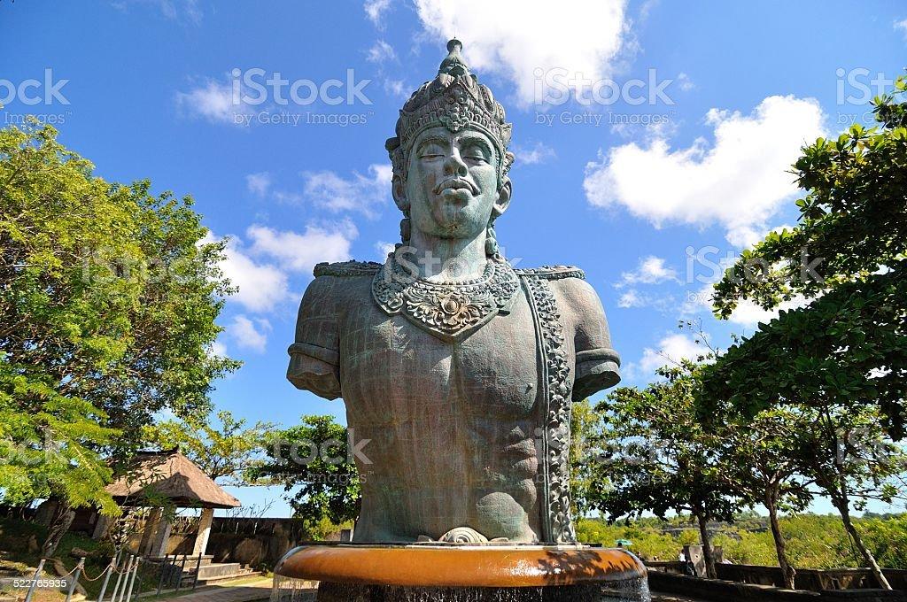 Wisnu statue stock photo