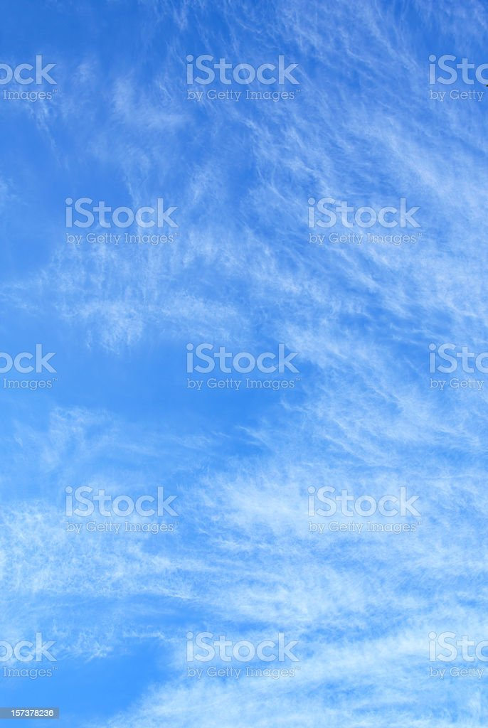 wispy cloud sky background royalty-free stock photo
