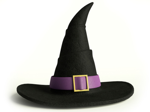 Witch Hat Stock Photo - Download Image Now - iStock