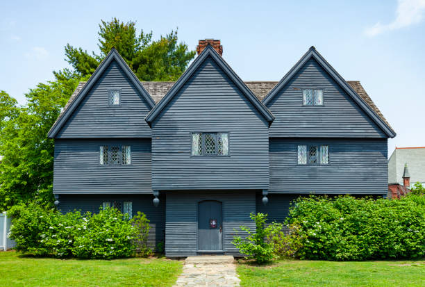 Witch House In Salem, Massachusetts stock photo