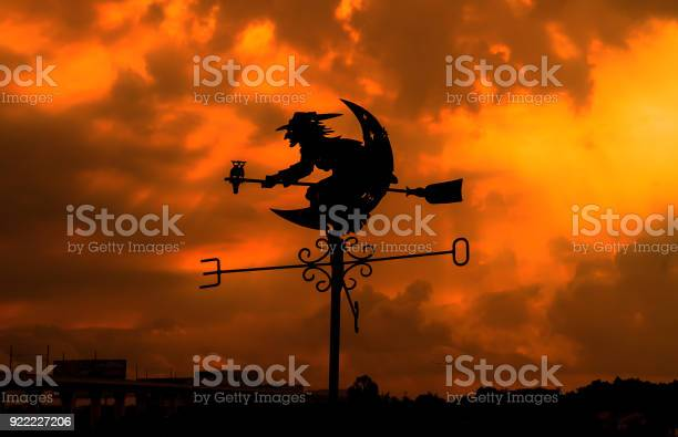 Witch on the roof and sunlight ray on the background picture id922227206?b=1&k=6&m=922227206&s=612x612&h=3hc60c2pixhq6ivk7cxbtlyfg ri eduugvhwyt8h s=