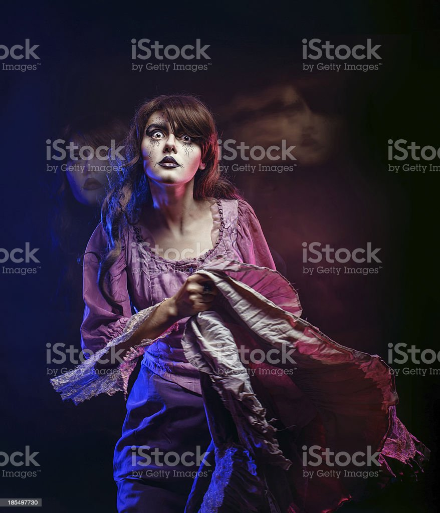 Witch royalty-free stock photo