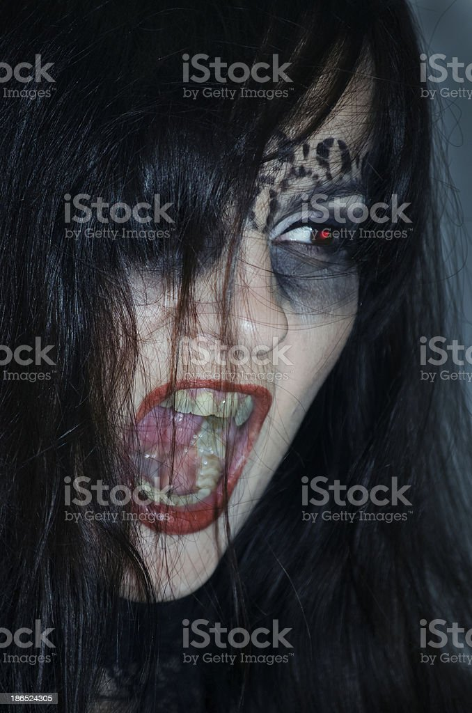 Witch. royalty-free stock photo