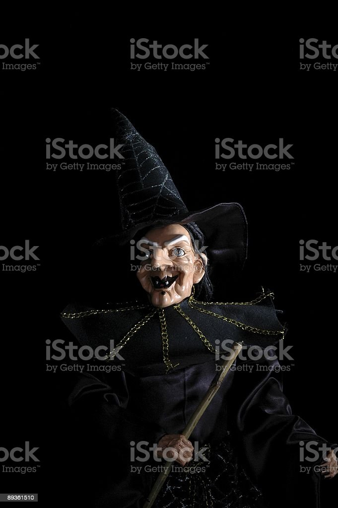Witch royalty free stockfoto