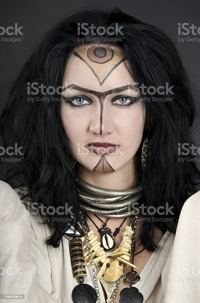 Witch / Priestess royalty-free stock photo