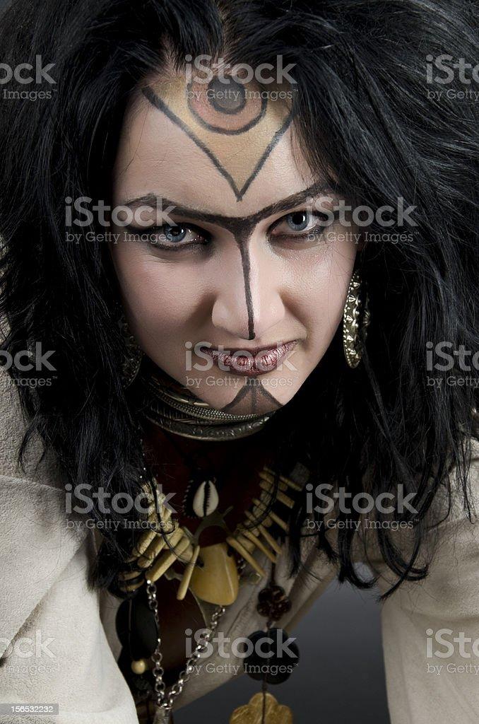 Witch / Priestess royalty-free stock photo