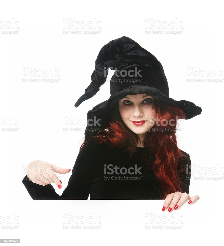 Witch sign series stock photo