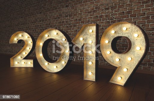 istock 2019 with bulbsign letters 978671092