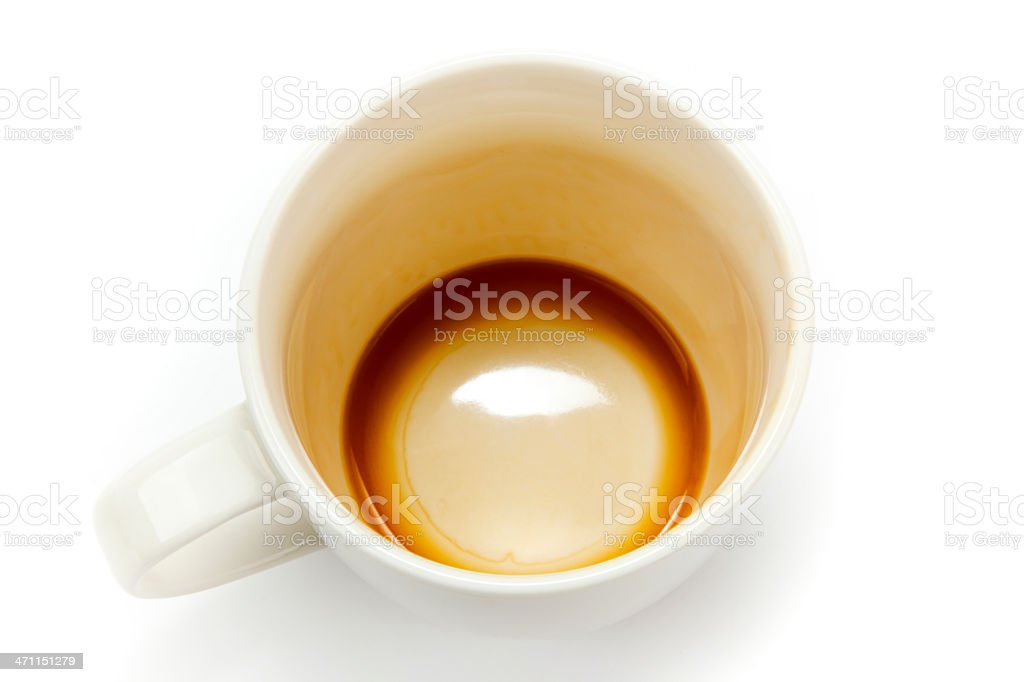 XXXL with ClippingPath Coffee royalty-free stock photo