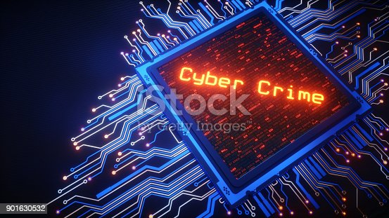 901627692istockphoto CPU With Cyber Crime Message 901630532