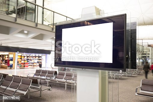 istock LCD TV with empty copy space 590176240