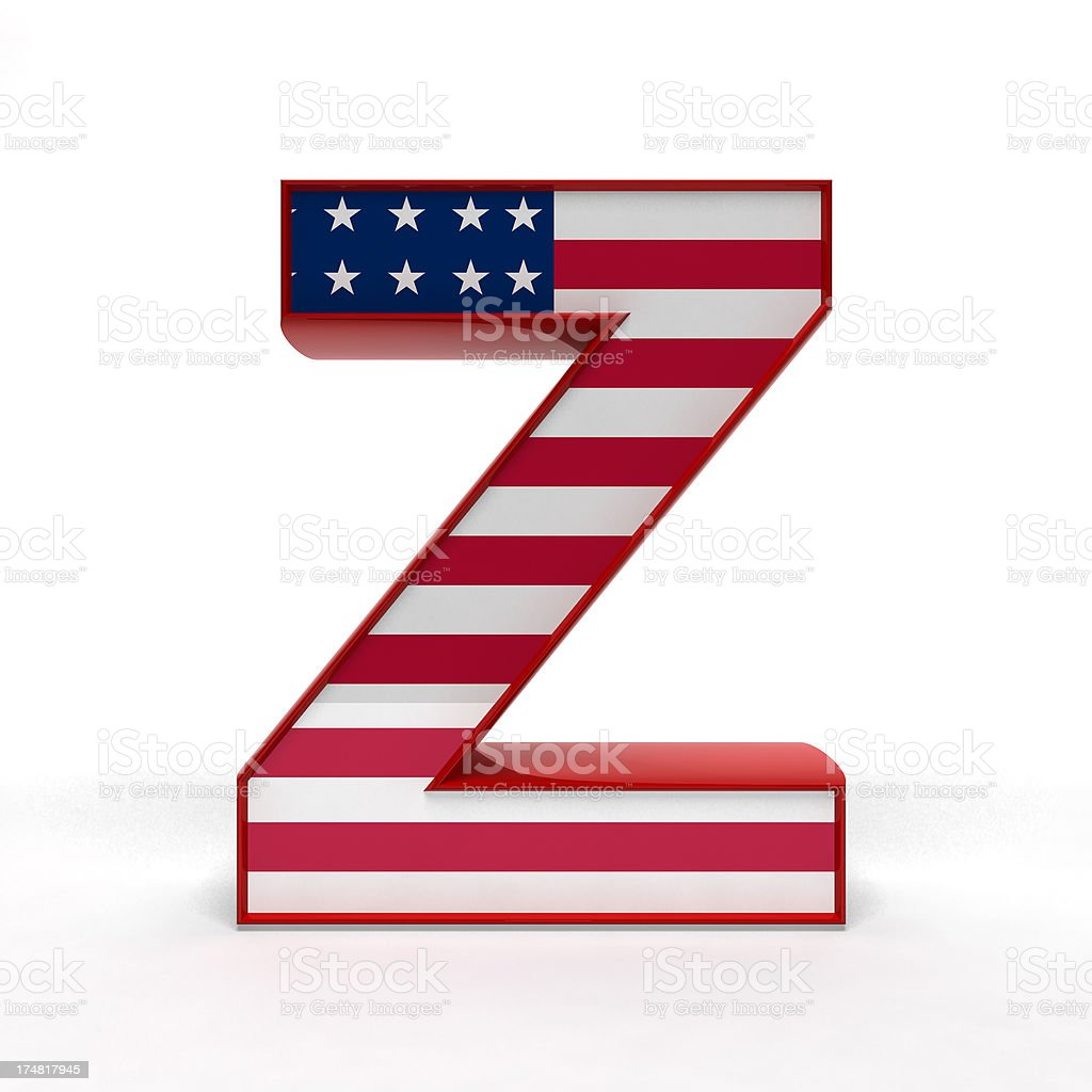 Z royalty-free stock photo