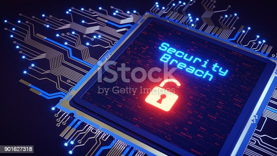 istock CPU With Security Message 901627318
