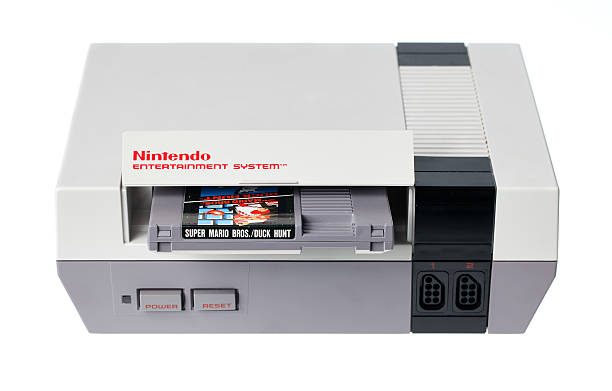 NES with Super Mario Bros. and Duck Hunt