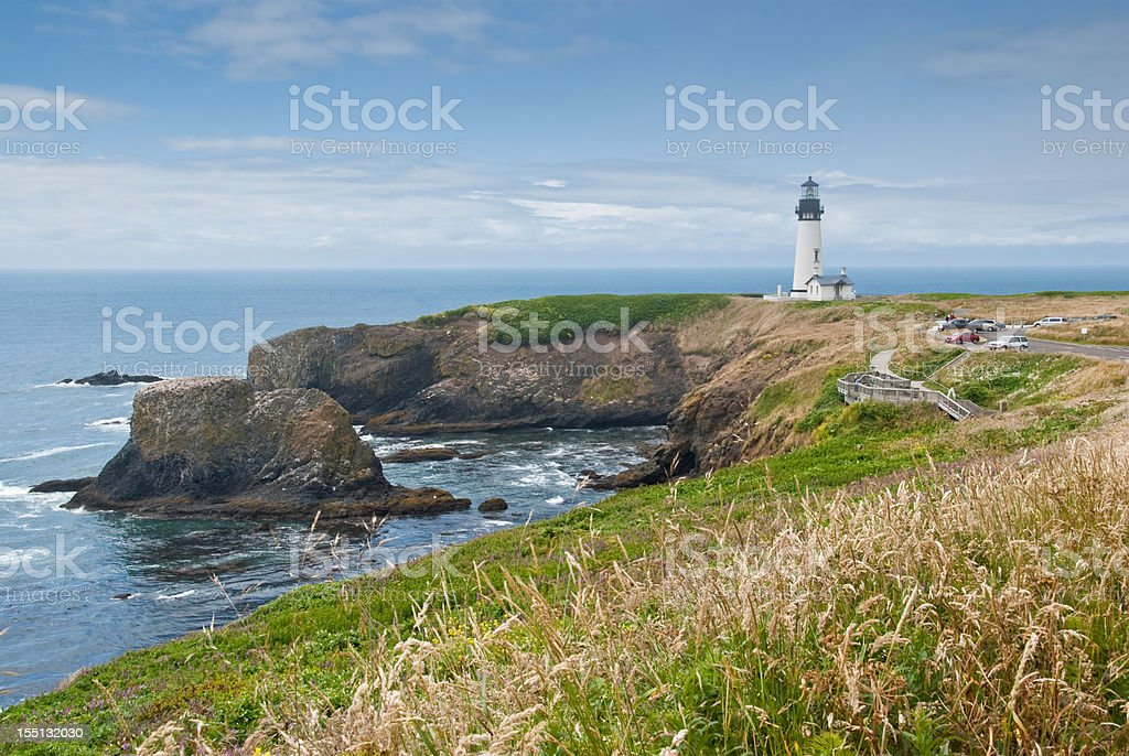 Yaquina Head Lighthouse - Royalty-free Architecture Stock Photo