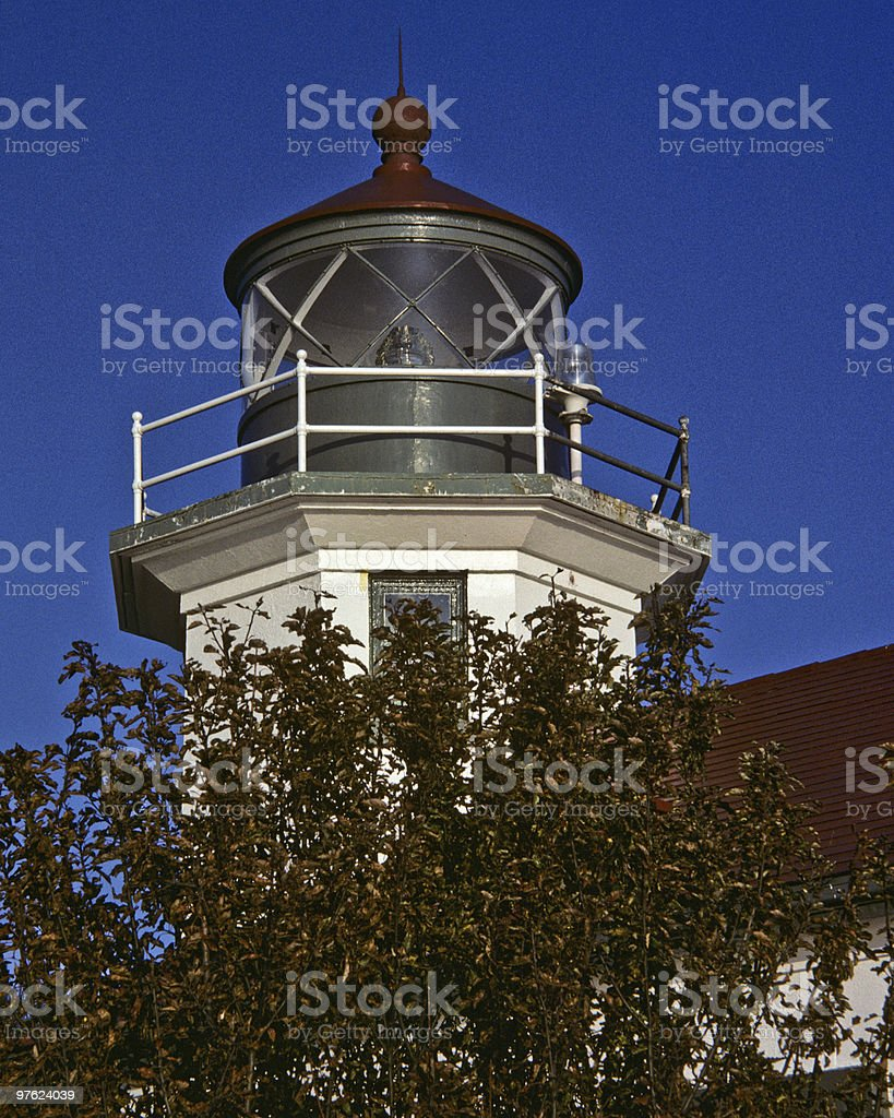 Point Robinson Lighthouse royalty-free stock photo