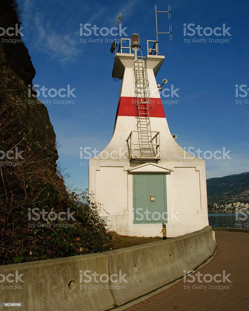 Prospect Point Lighthouse royalty-free stock photo