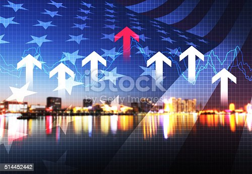 istock With the rapid development of urban economy and finance 514452442