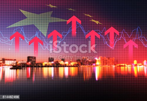 istock With the rapid development of urban economy and finance 514462456