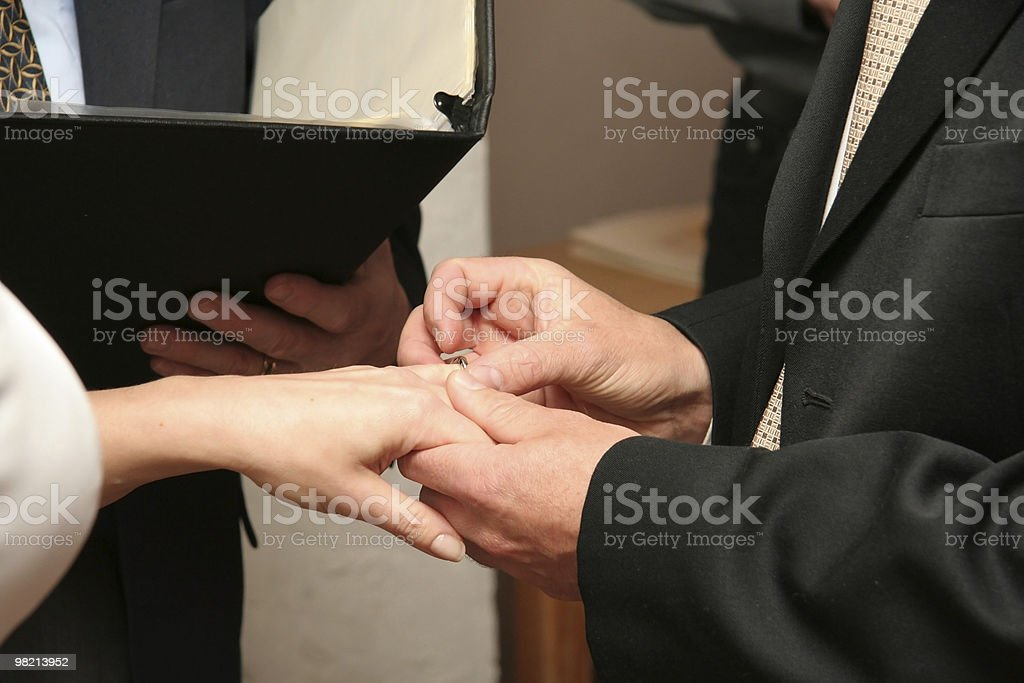 With This Ring royalty-free stock photo
