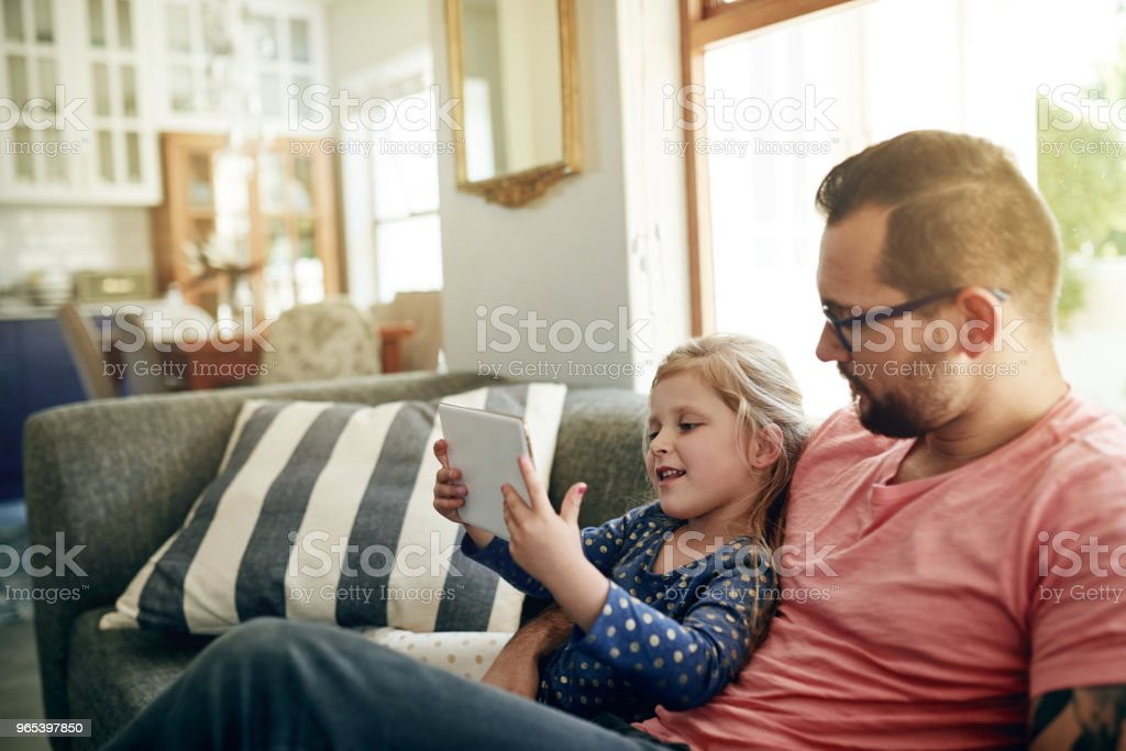 With wifi comes a lot of entertainment royalty-free stock photo
