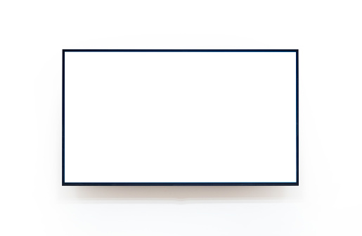 TV with with inside and outside pathes