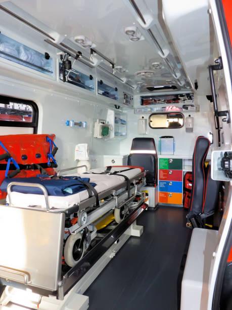 au sein de l'ambulance - Photo