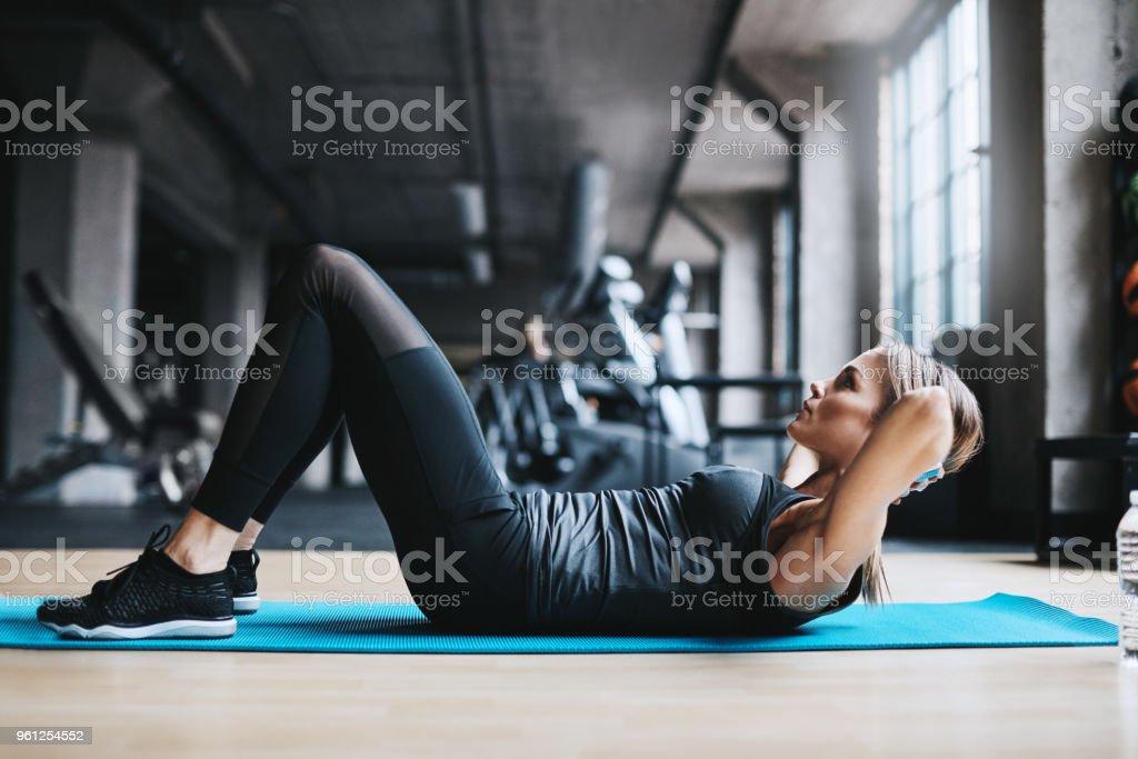 Erleben Sie die fitness – Foto