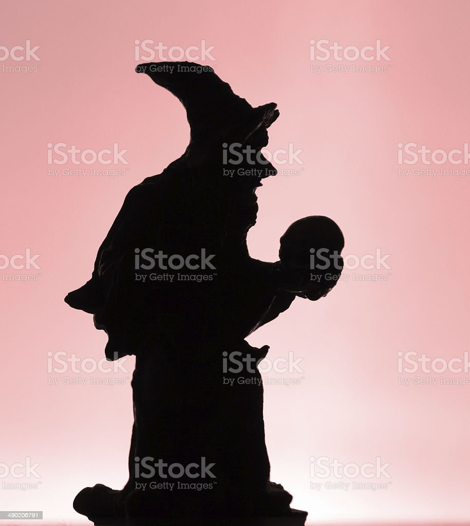 Wizard scull royalty-free stock photo