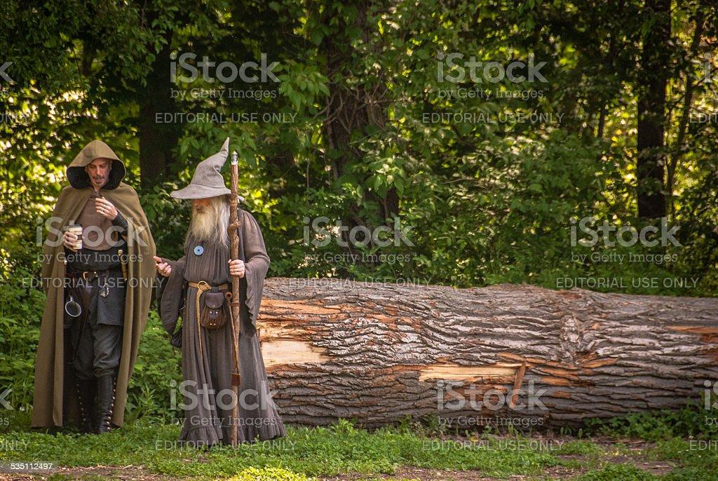 Wizards stock photo