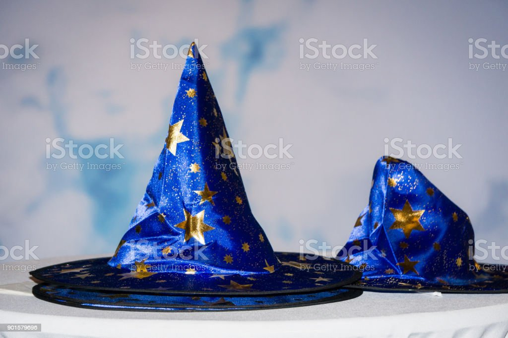 Wizards/Sorcerer's Hat stock photo