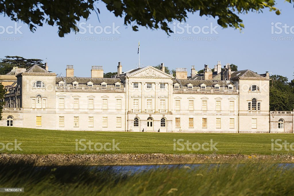 Woburn Abbey stock photo