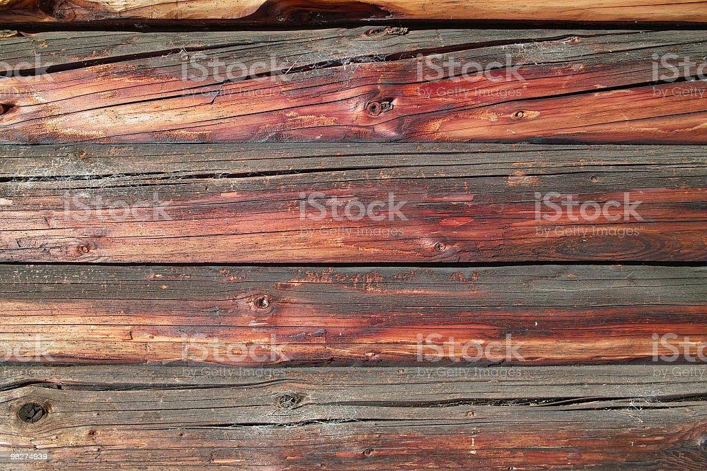 wodden con vecchio sfondo di asse di legno foto stock royalty-free