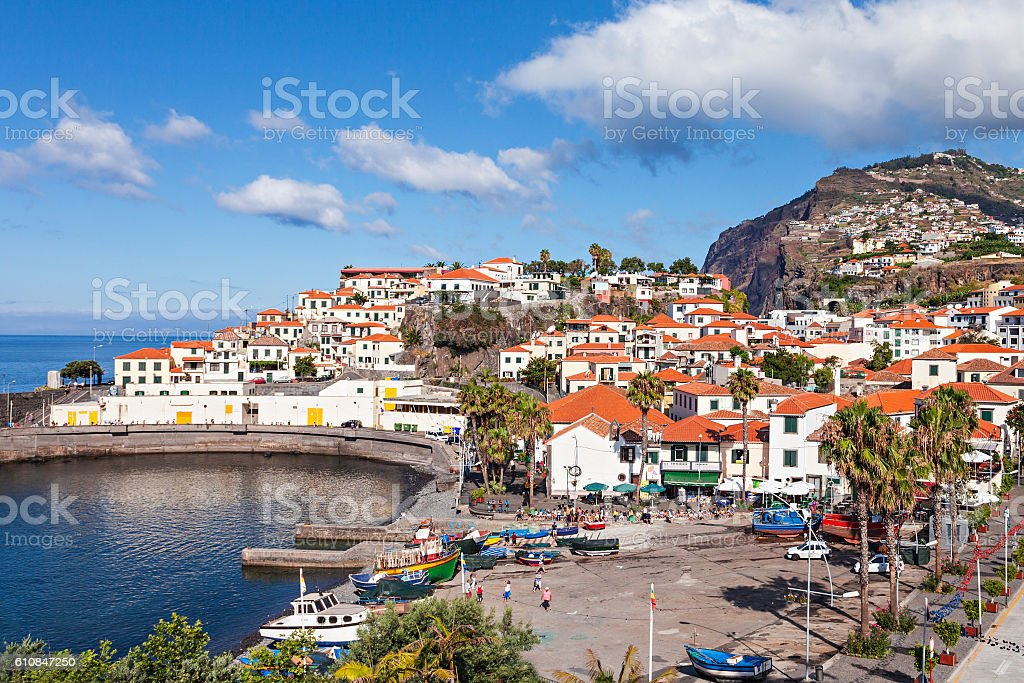 Camara de Lobos stock photo