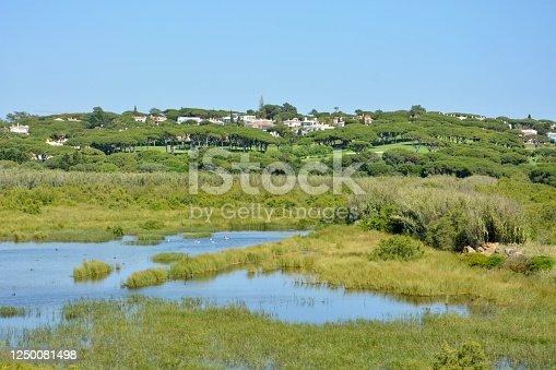 View of Vale do Lobo. Algarve, Portugal.