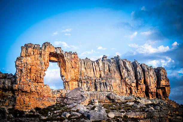wolfberg arch mountain - rock formations stock pictures, royalty-free photos & images
