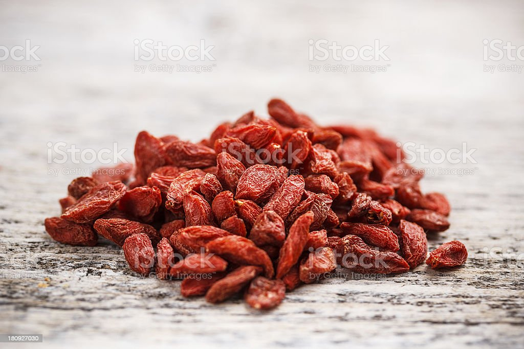 Wolfberry royalty-free stock photo
