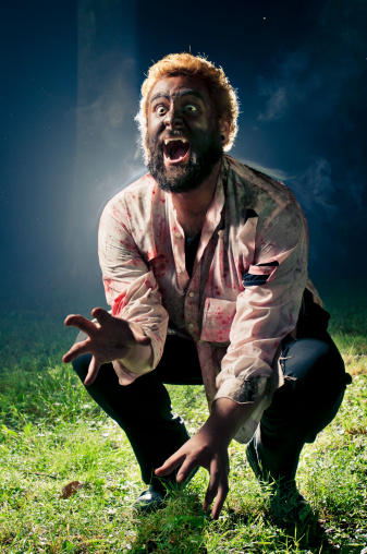 Wolfman Stock Photo - Download Image Now