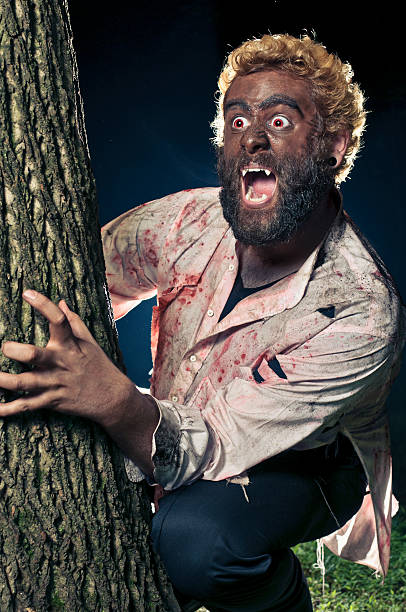 Wolfman stock photo