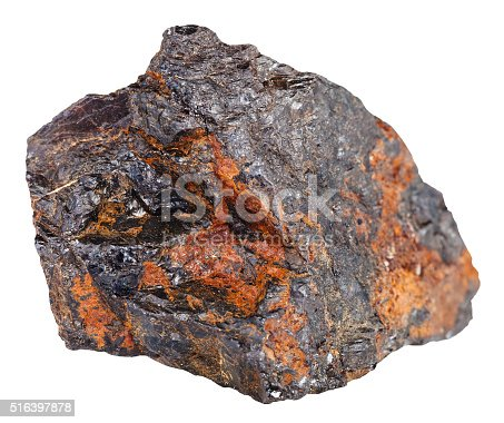wolframite mineral stone in iron ore stock photo more pictures of black color istock. Black Bedroom Furniture Sets. Home Design Ideas
