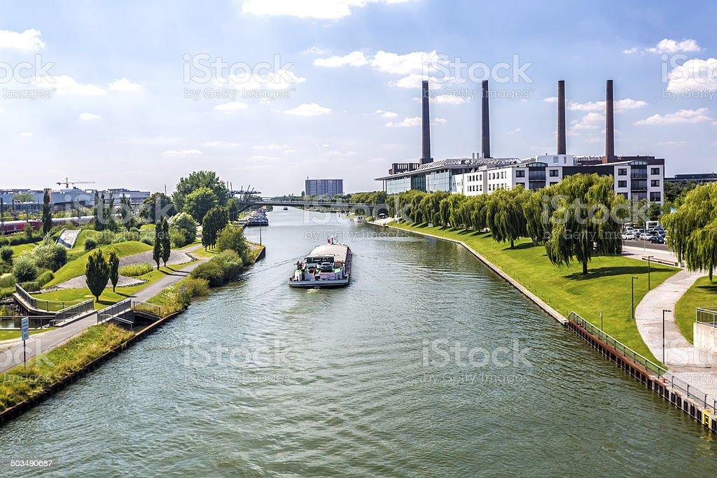 Wolfsburg die Skyline – Foto