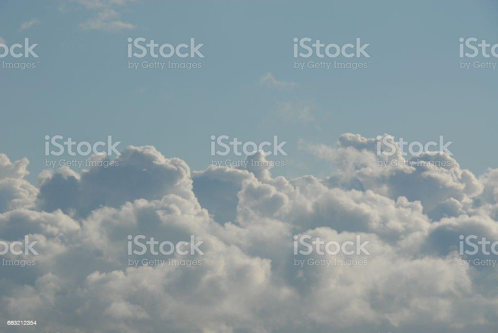 Wolken am spanischen Himmel 免版稅 stock photo