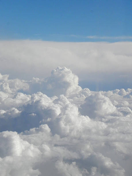 Wolkenlandschaft stock photo