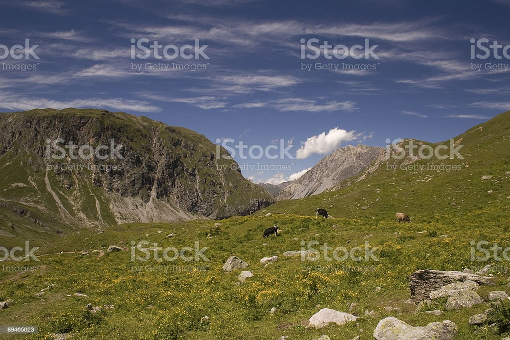 Wolkenschleier royalty-free stock photo