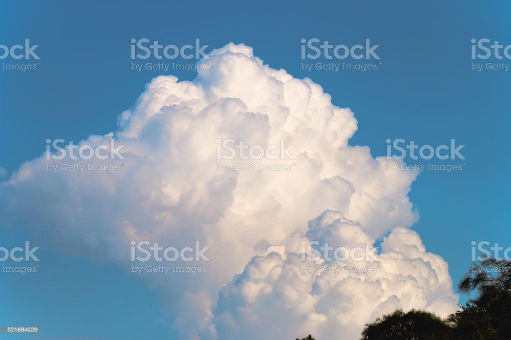 Wolkenturm stock photo