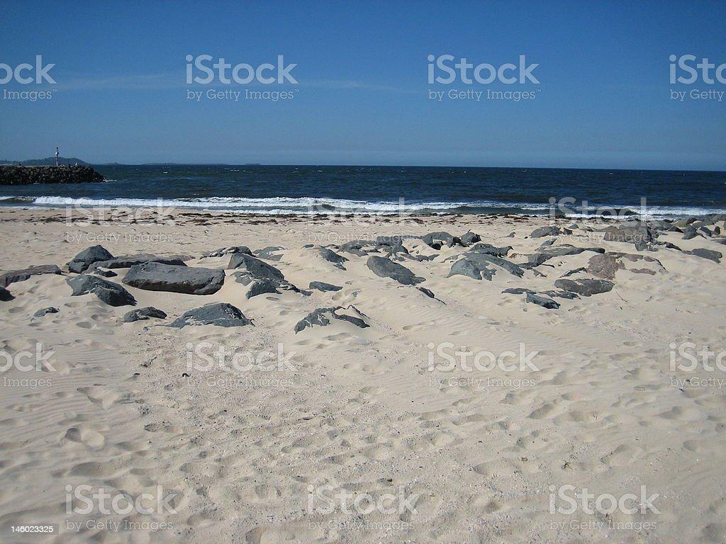 Wollongong Beach royalty-free stock photo